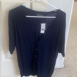 New York and Co cardigan size L NWT